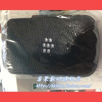 Free shipping, For blackberry   q10 original leather case lychee holsteins bb10 case-line sleep sets protective case