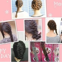 French tools scollops hairpin hair maker