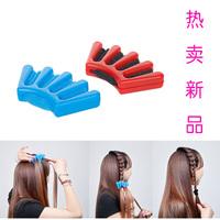 Short hair style maker diy centipede plate hair tool plate