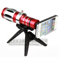 Red Luxury 20X Telescope Lens For iPhone For Sansung