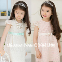 New Kids Toddlers Girls Gorgeous Princess Cotton Lace Dress Age 2-7Years