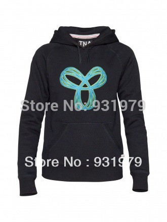 Free shipping Bargain Wholesale TNA hoodies Sweaters size S M L XL Comfortable Down Jacket  outwear coat(China (Mainland))