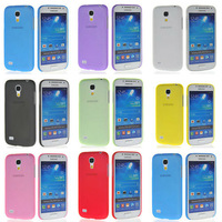 IPC028 Wholesale 10pcs/lot 0.2mm New Stylish Ultra-thin Skin Case Cover For Samsung Galaxy S4 MINI I9190