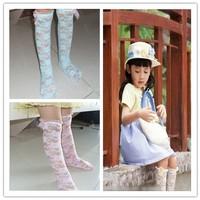 4 colors lace flower knee baby girl socks,socks kids,sock for the children,baby clothing,childrens lace socks