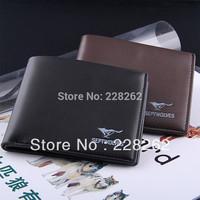Men's Wallet PU Leather Brand Wallet Passport Cover Designers Men Short Wallets Purse Key Bags Free Shipping