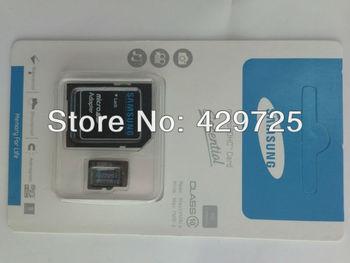 Free shipping NEW Micro SD  64GB 32GB class 10 Micro SD Memory Card TF 64GB 32 GB,with free SD Adapter
