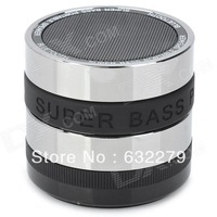 SLH-HY-L01 Bluetooth v2.1 + EDR 2.1-Channel Super Bass Speaker w/ TF - Black + Silver  Free Delivery