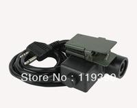 Element U94 Headset PTT for Midland 2 Pin Radio TACTICAL U94 PTT