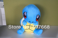 1pcs 28cm/11inch high quality Pokemon plush toys doll Squirtle Blastoise plush toys doll retail