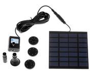 Free Shipping Pool Water Garden Plants Watering Kit Solar Power Fountain Soar Pump/Water Pump