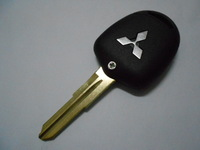 3 button straight remote car key blank shell fob case Free shipping High quality for Mitsubishi Lancer EVO