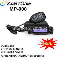 Zastone MP-900 Newest Dual Band Mobile Radio 136-174MHz&400-470MHz Cheap Car Radio Air Band receiver