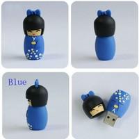 Japanese dolls8GB16GB32GB64GB  USB Flash Memory Pen Drive Stick