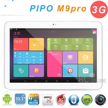 "DHL Free!! Built-in 3G!! 10.1"" Pipo M9 Pro 3G Android 4.2 GPS Tablet PC  IPS Quad Core RK3188 1.6GHz 2G/32G Bluetooth Wifi HDMI"