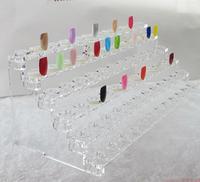 Hot ! New! Nail Color Chart nail Display Nail Gel/polish Color Station Ring shape display