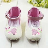 3pairs/batch Free Shipping Shoes Girls Princess for Newborn First Walkers with Comfortable Soft Sole Shoes for Kids