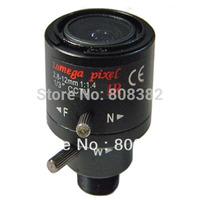 HD 2 megapixel 2.8-12mm Manual Focus Zoom Focal MTV Mount Lens For CCTV Home Security HD IP IR Infrared Camera