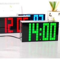 Hot Selling 2014 large  led digital wall countdow timer clock desktop table wall atmos clocks free shipping