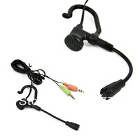 Hot Sale ! New Single-Ear headset with microphone Earhook Headphone Mic. earphone for Skype VoIP PC/Laptop Drop Shipping 8826
