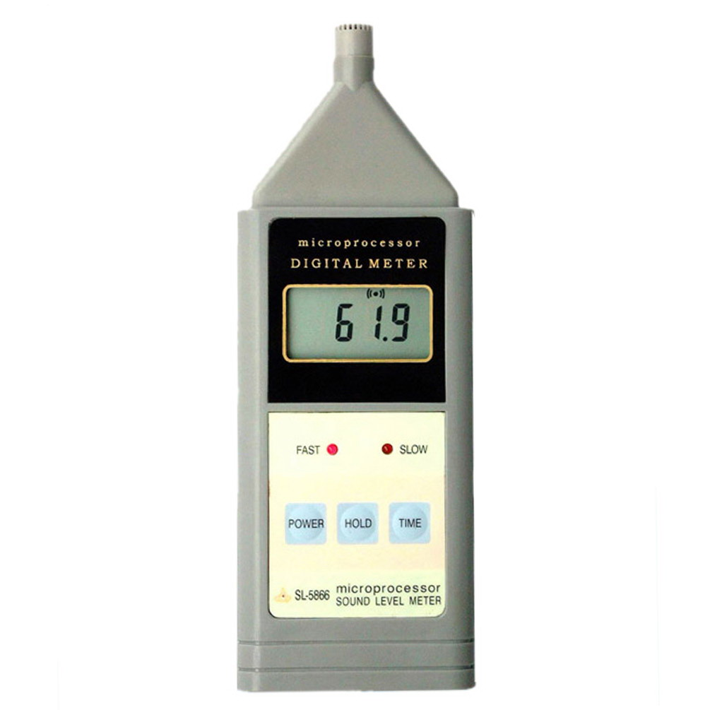 Free Shipping Landtek Digital LCD Sound Noise Level Meter Decibel Monitor Teste 40 - 125dB(China (Mainland))