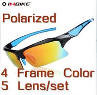 Free Shipping Brand Inbike Cycling Bicycle Bike Outdoor Sports Driving Sun Glasses Eyewear Goggle Sunglasses -  5 Lens Polarized