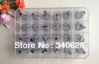 Factory Wholesale 10 sets  24pcs Icing Piping Nozzles Pastry Tips Cake Sugar craft Decorating Tool Box Set
