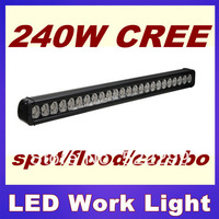 39'inch 240W HIGH POWER LED LIGHT BAR WORK LIGHT, TRUCK LIGHT, OFF ROAD LAMP ATV, UTV, SUV