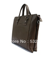 Guaranteed 100% Genuine leather 2013 hot-selling fashion genuine top cow leather men messenger bag Free shipping