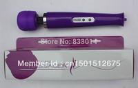10 Speed Magic Wand Massager AV Vibrator AV Magic Wand HandHeld Massager Sex Toys for Women free shipping 20p