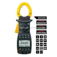 MASTECH Digital Power Clamp Meter MS2205 3 Phase Harmonic Tester RS232 Interface
