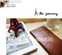 long pattern travel passport holder, the journey