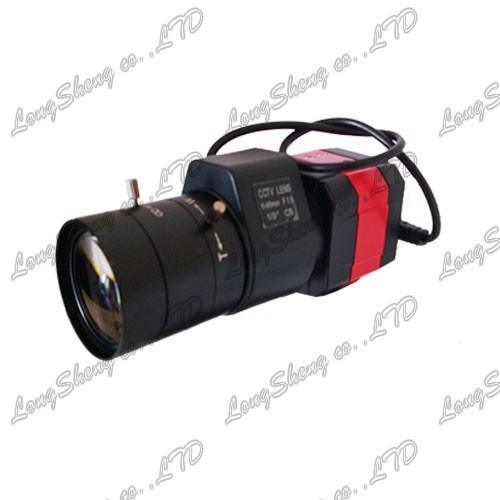 Super WDR 6-60mm Vari focal ZOOM Bullet Sony RJ11 650TVL CCTV camera Security(China (Mainland))