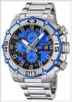 Festina F16599-4 Men's Chrono Bike Tour De France Quartz Steel Blue Dial Watch