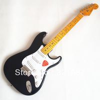 Wholesale - 2013 New arrival black color top point fret inlay OEM F Electric guitar maple fingerboard in stock