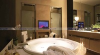26 '' Waterproof Bathroom LCD TV , DVB-T HDMI USB , IP66 Structure, Touch Key & Remote control , Free UPS EMS to Brazil Russian