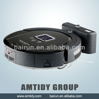 2014 Hottest Robot Vacuum Cleaner With LCD Screen, UV Sterilize, Mopping, Self Charge, Virtual Wall