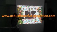 Interactive floor projection of 74 interactive effects for playing games, Discotheques / Night Clubs