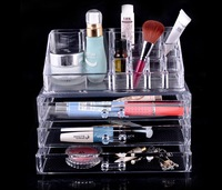 Free shipping permanent make up display stand 4layers table make up case for women #W35330H02