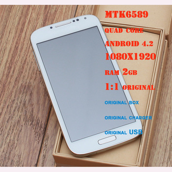 S4 1:1 Android Mobile Phone RAM 1G +ROM 4G Support 3G GSM850/900/1800/1900MHZ GPS WIFI Freeshipping