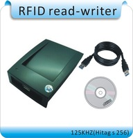RFID-EM4305 reader and writer 125-134.2KHZ ISO 11784/85 card reader, animal chip write code machine, burn code machine, FDXB