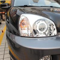 BEST seller hyundai Santa Fe headlight assembly refit angel eye q5 bifocal xenon headlights assembly