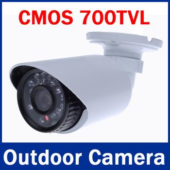 """2013 Newest 1/3"""" Color CMOS 700TVL Outdoor/ Indoor Waterproof IR Bullet Camera CCTV Camera"""