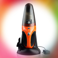 AC110-240v Wet Dry Auto Vacuum Cleaner With Air Compressor Superior design 12v 75w Orange and black