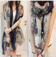 2015 Top Fashion Sale Print From India Women Bufandas free Shipping!!! Hot-sale Products!!! Han Edition Long Cotton Beach .