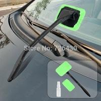 Folding Microfiber Car Wash Glass Window Windshield Cleaning Brush Set Vehicle Windshield Auto Wiper Cleaner Brush Free Shipping