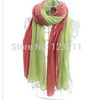 Free Shipping 19 colors Double color warm  plaid scarves wholesale