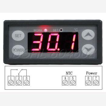 220V Digital LCD Thermostat Temperature Regulator Controller Aquarium Fish Tank