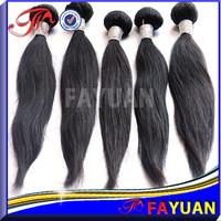 Fayuan hair: hot beauty100% human hair straight indian hair weave, natural color 2pcs/lot,DHL fast shipping dye free
