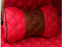 23 color can select/ High-quality Car headrest neck pillow bone pillow four seasons general a pair