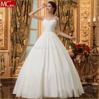 Wedding Dress new 2015 weddings formal double-shoulder spaghetti strap elegant bride vestido de noiva Wedding Dresses vestidos